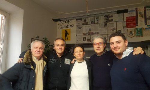 """Marta Bonafoni, consigliera regionale del Lazio, nella sede di """"Forche Caudine"""""""