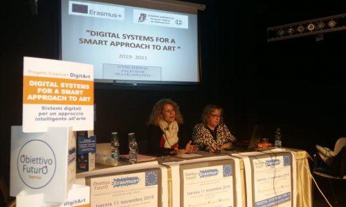 Isernia, Erasmus +, l'arte e le nuove tecnologie