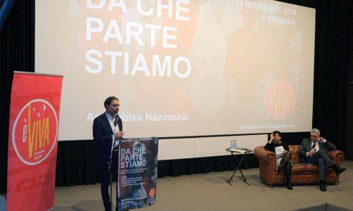 """L'intervento del molisano Nicola Palombo all'assemblea nazionale di """"èViva"""""""
