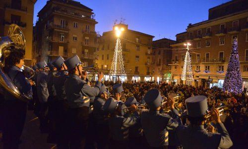 Frascati, parata musicale di fine anno