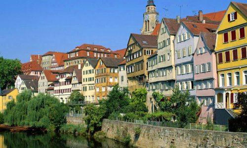 Itinerari europei: Baden-Württemberg, selvaggio Sud della Germania