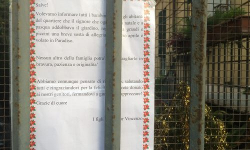 Roma, via La Spezia e quel magico cancello…
