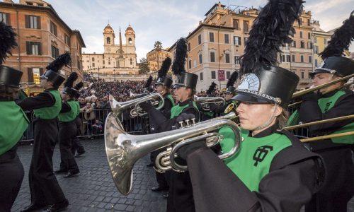 Roma, Capodanno con la celebre Parata