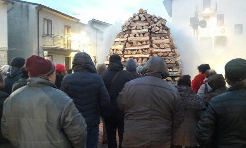 Pietrabbondante, Sant'Antonio e il fuoco più imponente del Molise