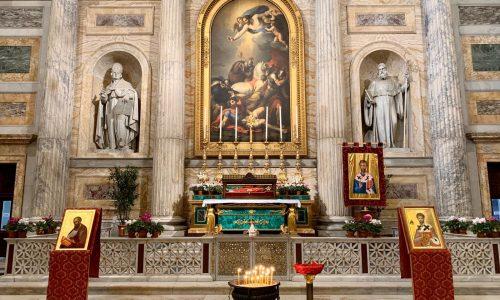 Pellegrinaggio del corpo di San Timoteo: le reliquie a Roma