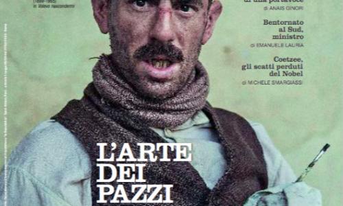 "Elio Germano con ""Ligabue"" conquista la copertina del ""Venerdì"""