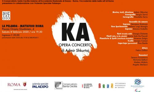 """Roma, La Pelanda: """"Ka-Opera concerto"""" sabato 8 febbraio"""
