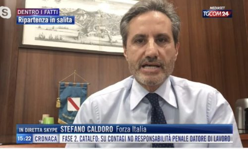 Il molisano Caldoro di nuovo in corsa come governatore della Campania