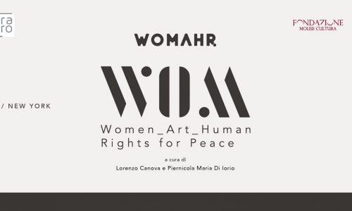 """Campobasso, mostra """"WOMAHR"""""""