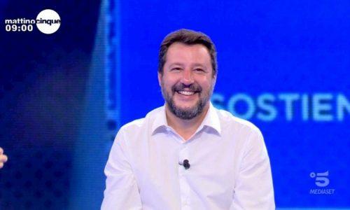 """Salvini in Molise per """"rincollare"""" il centrodestra"""