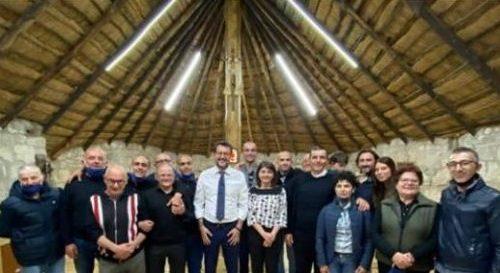 """Salvini, visite in Molise. Il quotidiano """"Next"""" evidenzia la mancanza di mascherine"""
