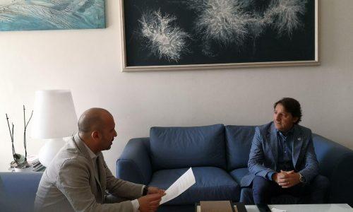 Il senatore molisano Ortis incontra Tridico (Inps)