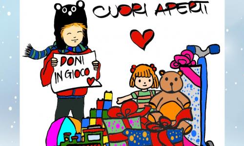 Roma, bella iniziativa nel I Municipio: donare un gioco ad un bambino