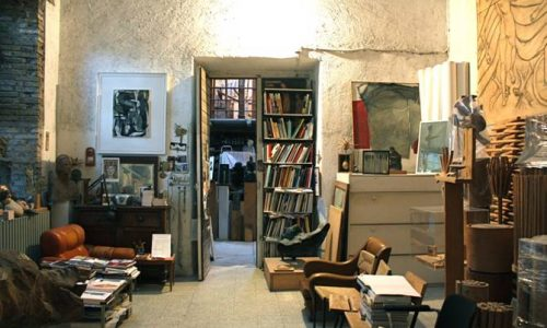 Roma, visita guidata allo studio del molisano Tito