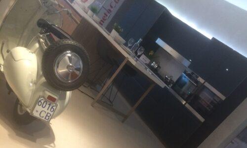 La moto d'epoca targata Campobasso
