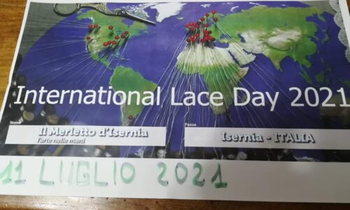 Giornata internazionale del merletto, 11 luglio 2021, Isernia c'è