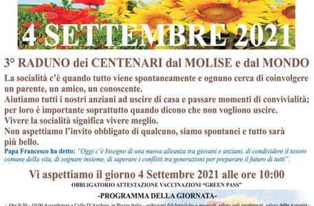 Colle d'Anchise (Cb): festa dei centenari