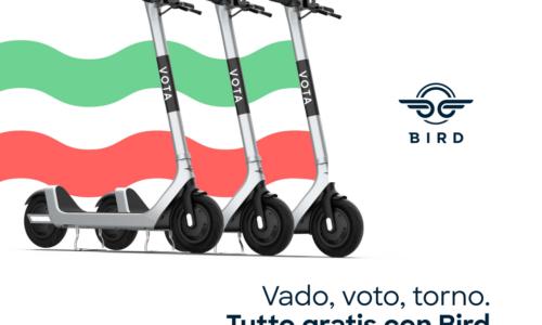Roma, corse gratis in monopattino per andare a votare