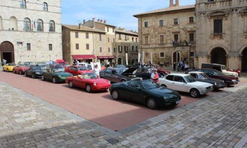 Dal Senese al Molise, raduno di auto storiche
