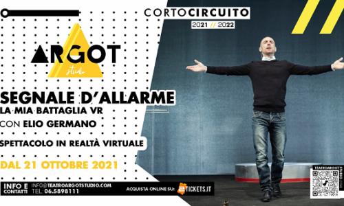 Elio Germano, il nuovo spettacolo a Roma (con riduzione per Forche Caudine)